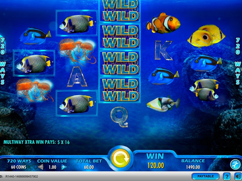 Pacific Paradise Slot Machine