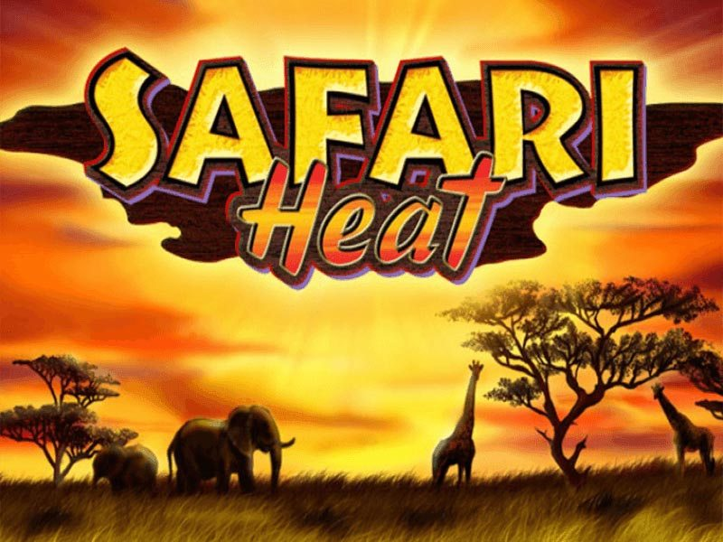 Safari Heat Novomatic Slot Logo