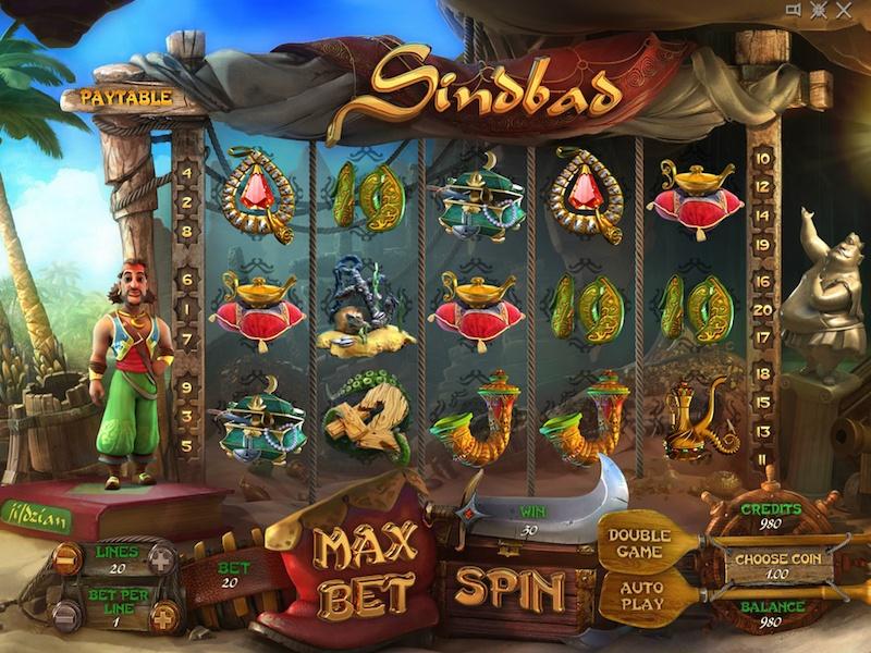 Play Sinbad Slot Machine Free with No Download