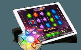 Starburst slot for mobile tablets