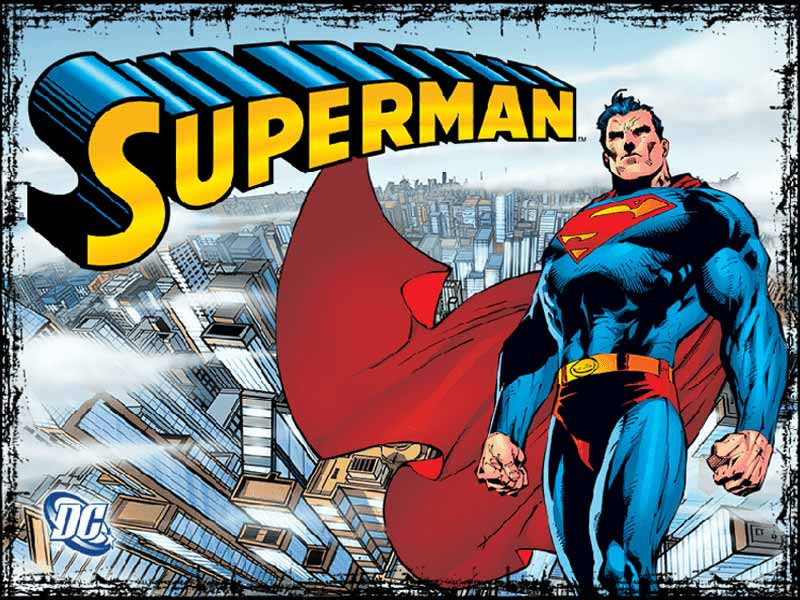 Superman slots machine logo