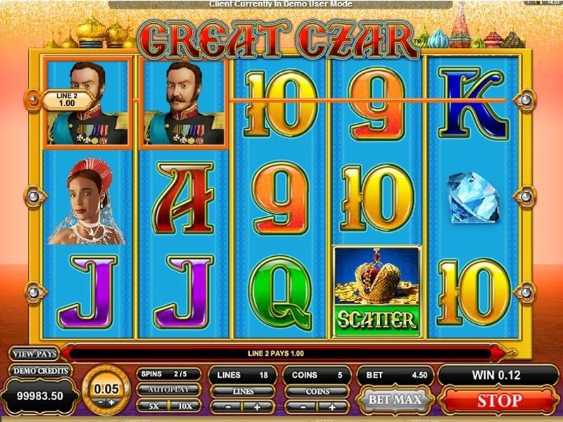 The Great Czar Slot Machine