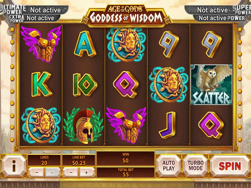 Image result for goddess of wisdom slot