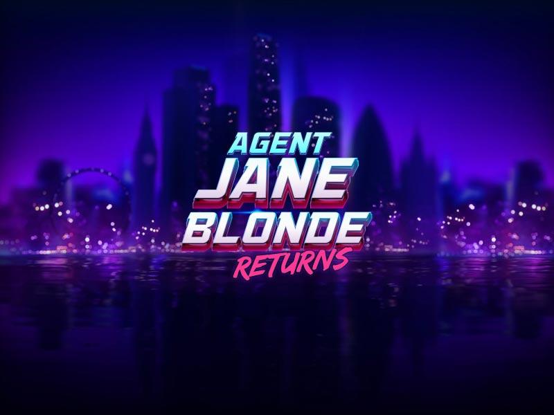 Agent Jane Blonde Returns Slot Feature Image