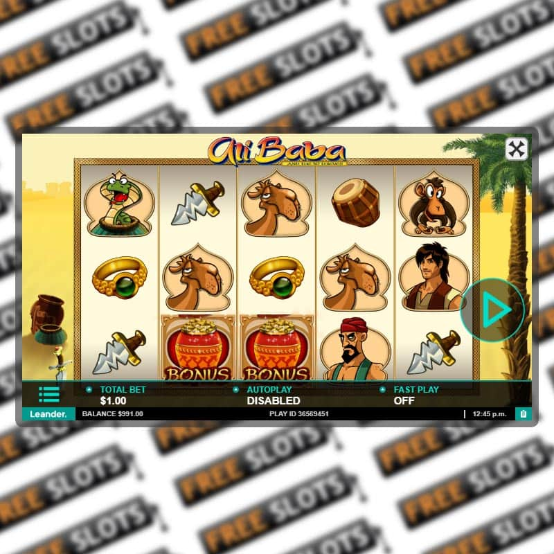 Ali Baba Slot Free Slot Machine Game By Leander Games