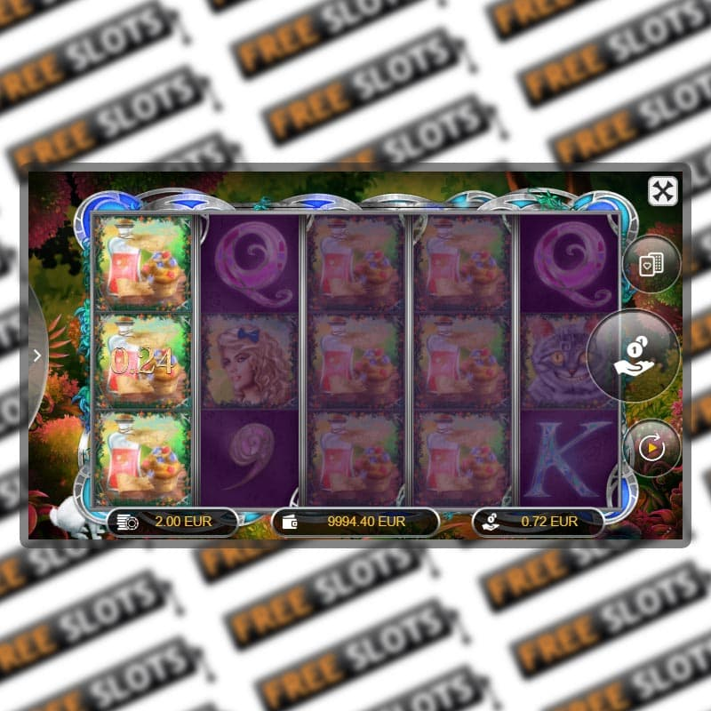 Alice In Wonderland Wms Slot Machine Game To Play Free For Money