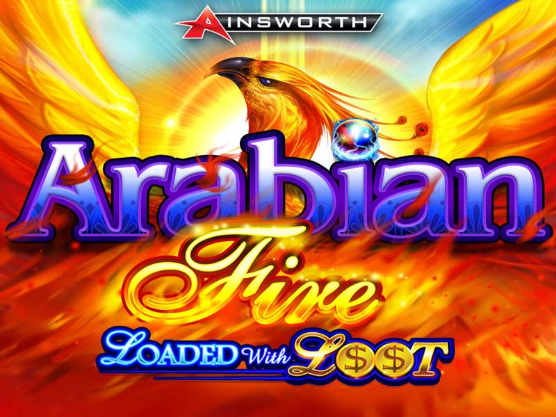 Arabian Fire Loaded with Loot Slot Machine