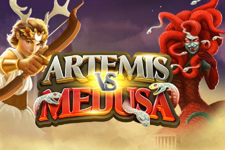 Artemis vs Medusa Slot Featured Image