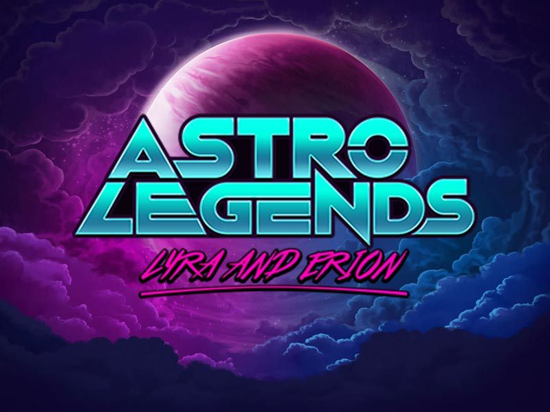 Astro Legends Microgaming Slot Logo