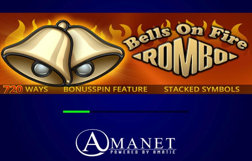 Bells on Fire Rombo Slot Machine