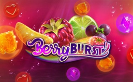 CasinoLuck Berryburst Slot Welcome Bonus of up to £/$/€ 150