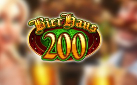 Get the CasinoLuck £/$/€ 150 Welcome Bonus and Double it on Bier Haus Slot!