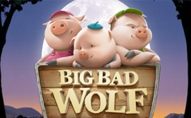 $1000 + 200 Free Spins on Big Bad Wolf Slot