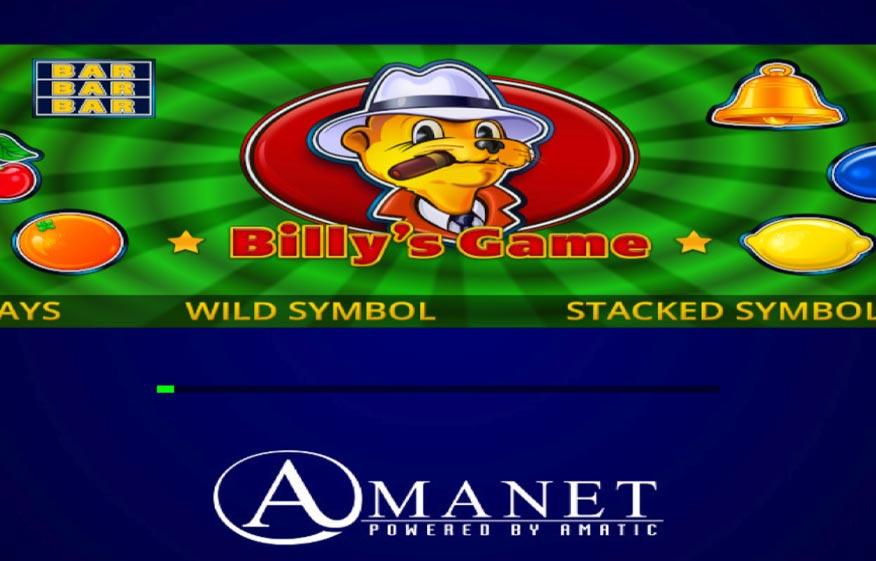 Billy's Game Slot Machine