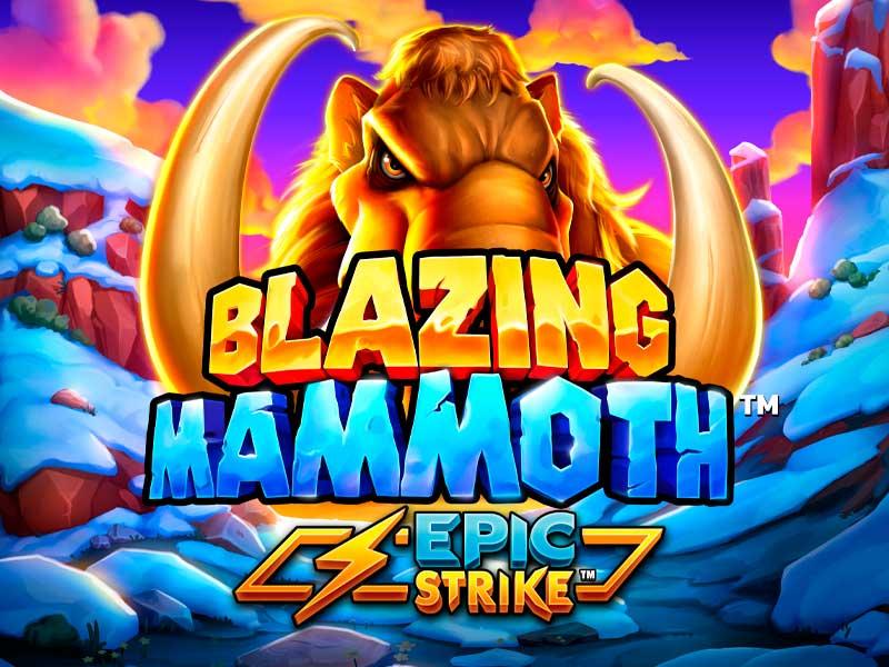 Blazing Mammoth Slot PearFiction Studios