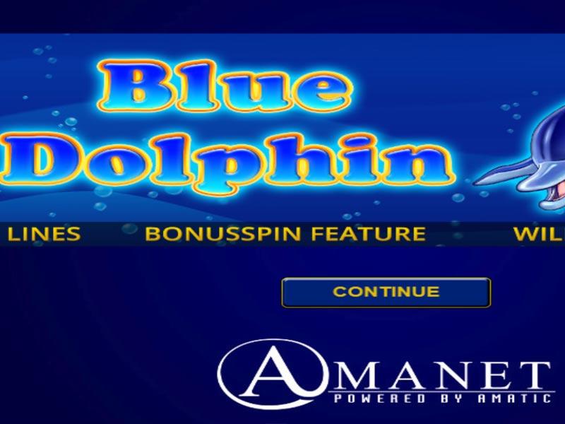 Blue Dolphin Slot Online