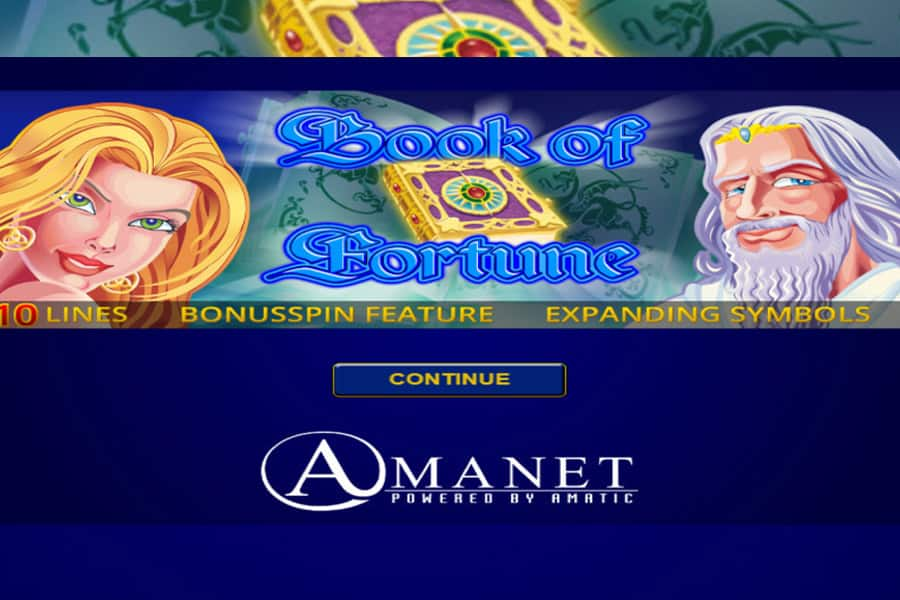 Book of Fortune Slot Featured Image