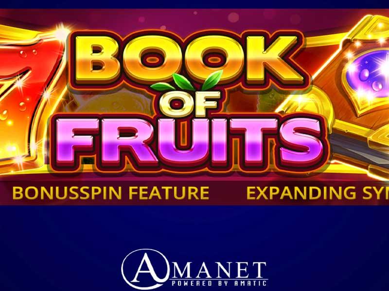 Book of Fruits Slot Online