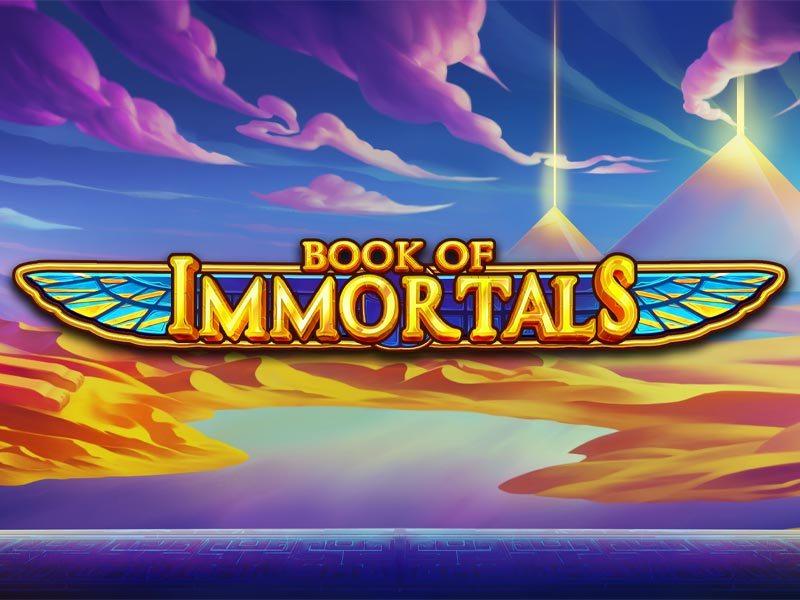 Book of Immortals Free Slot Logo