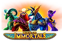 Book of Immortals Free Slot Overview Logo