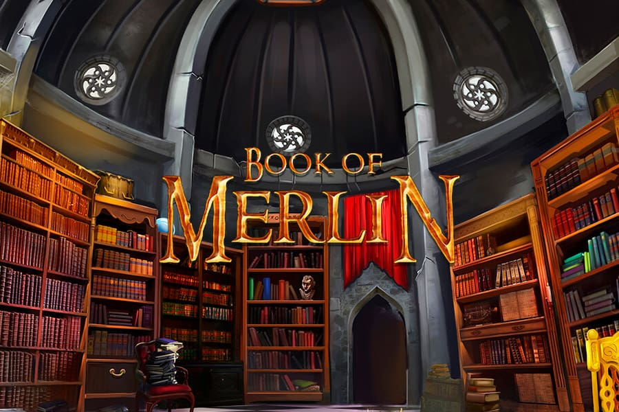 Book Of Merlin Slot Featured Image