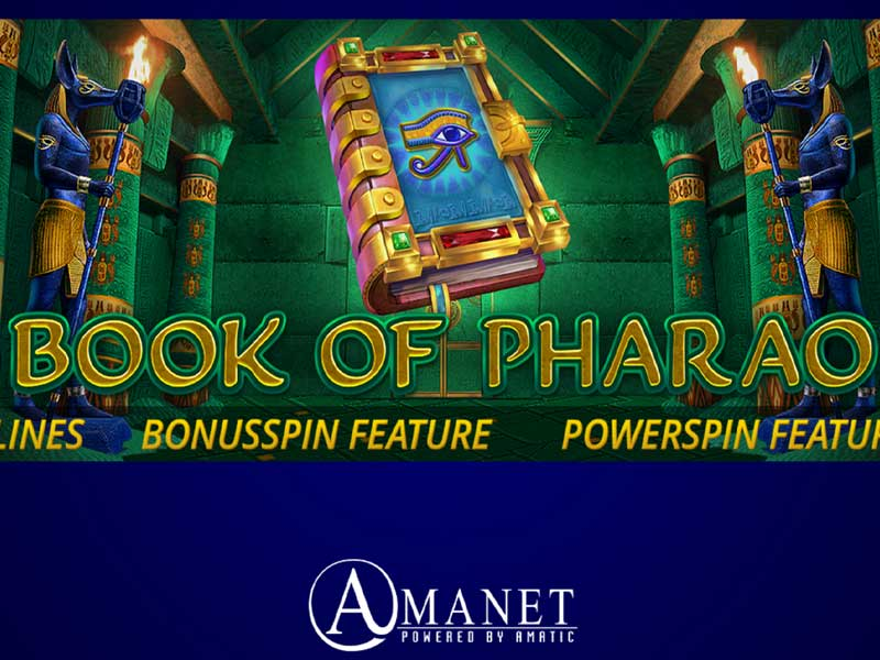 Book of Pharao Slot Online