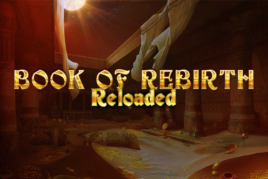 Book Of Rebirth Reloaded Slot Featured Image