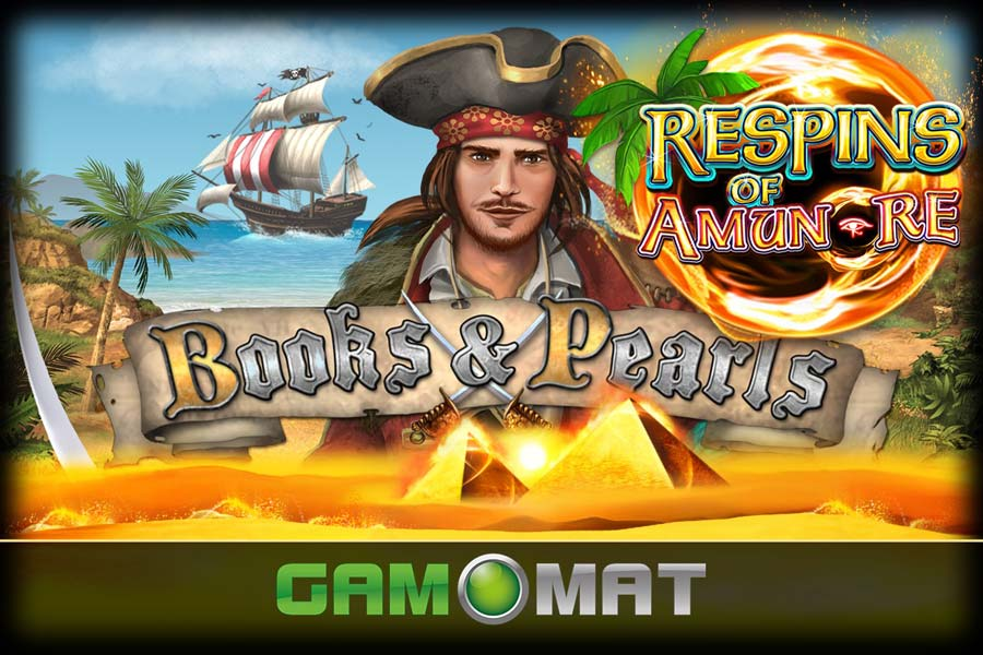Books And Pearls Respins of Amun Re Slot Featured Image