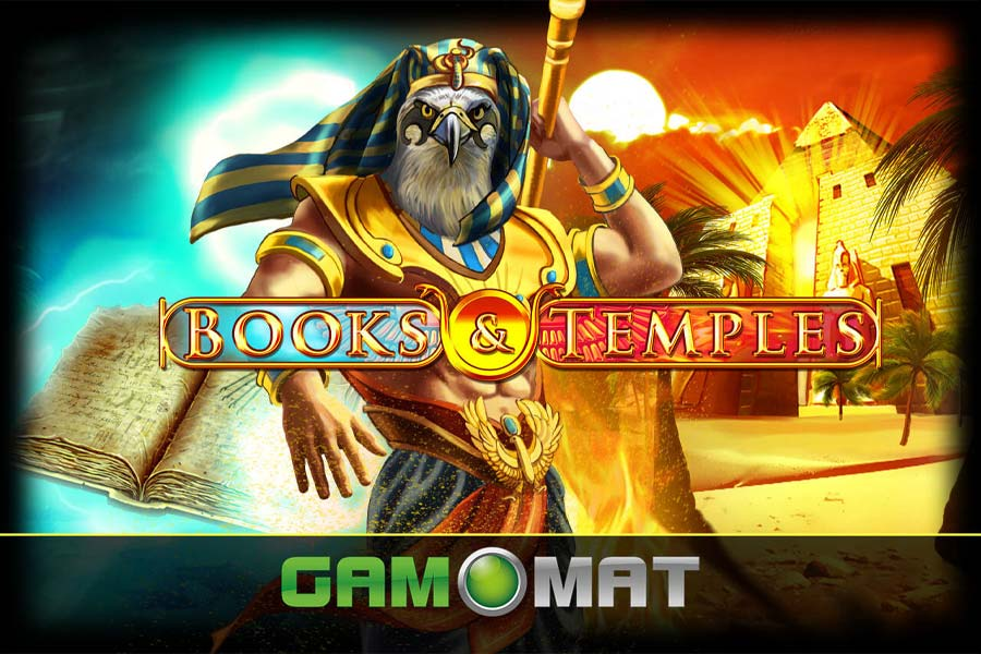 Books and Temples Slot Featured Image