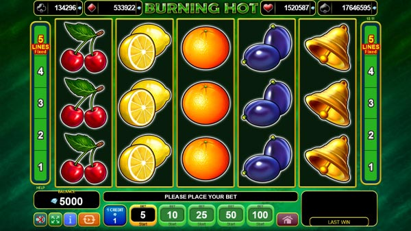 Burning Hot Slot Online Slot Game To Play Free By Igt