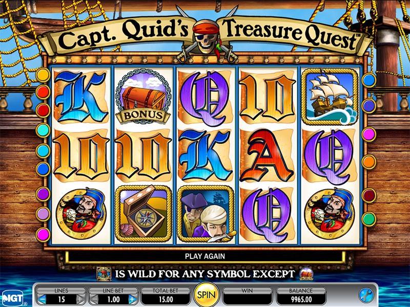 Captain Quid's Treasure Chest