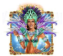 Carnaval Forever Queen Symbol Free Slots