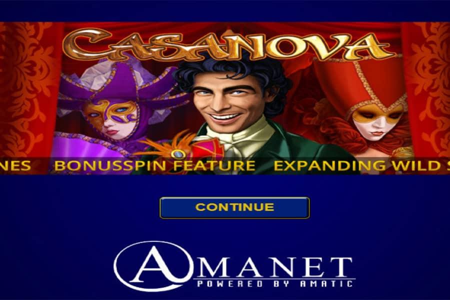 Casanova Slot Featured Image