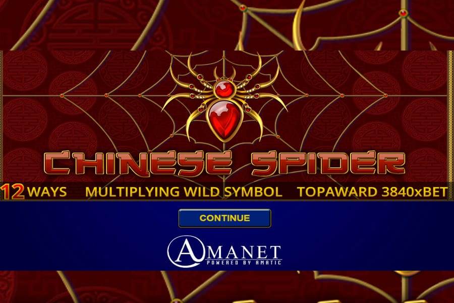 Chinese Spider Slot Featured Image