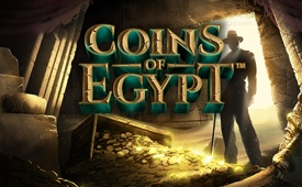 €50 + 20 Free Spins on Coins of Egypt Slot by BetSafe Casino