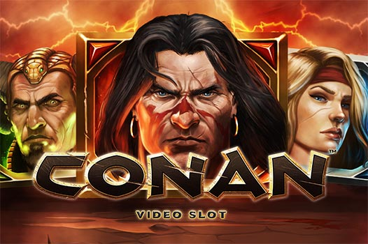 Conan Slot Overview Logo