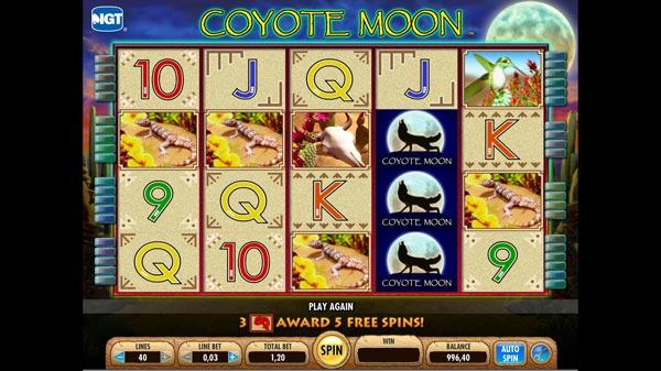 Free Online Slots Coyote Moon