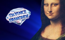 £500 + 150 Free Spins Welcome Bonus on Davinci Diamonds Slot by Kerching Casino