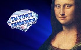 £500 + 150 Free Spins Welcome Bonus on Davinci Diamonds Slot by Kerching Casino