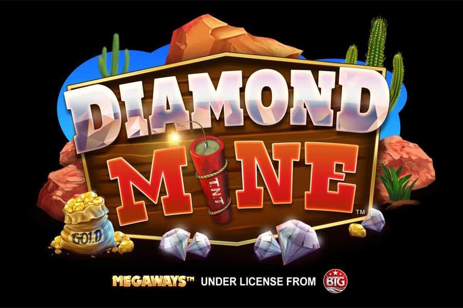 Diamond Mine Megaways Slot Featured Image