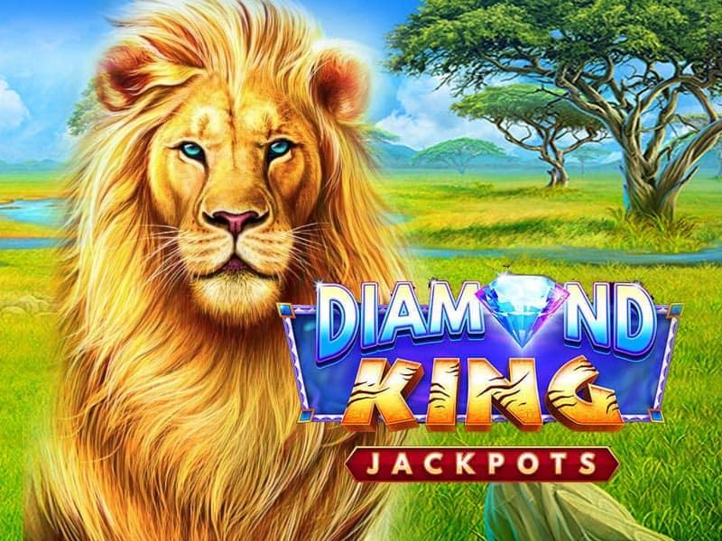 Diamond King Jackpots Slot Machine Online