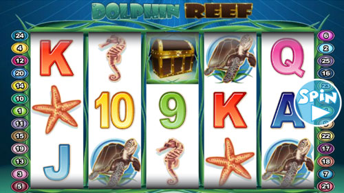Dolphin Reef No Registration Slot Machine Review