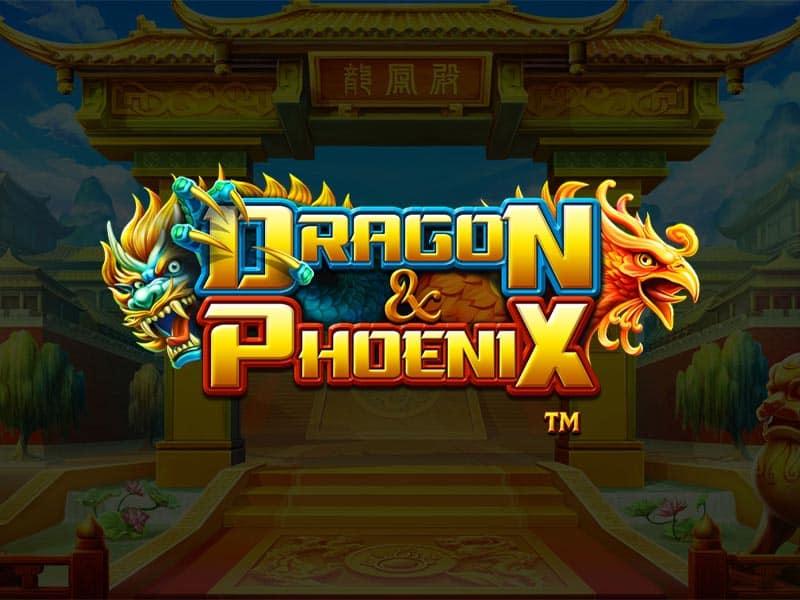 Dragon and Phoenix BetSoft Slot Logo