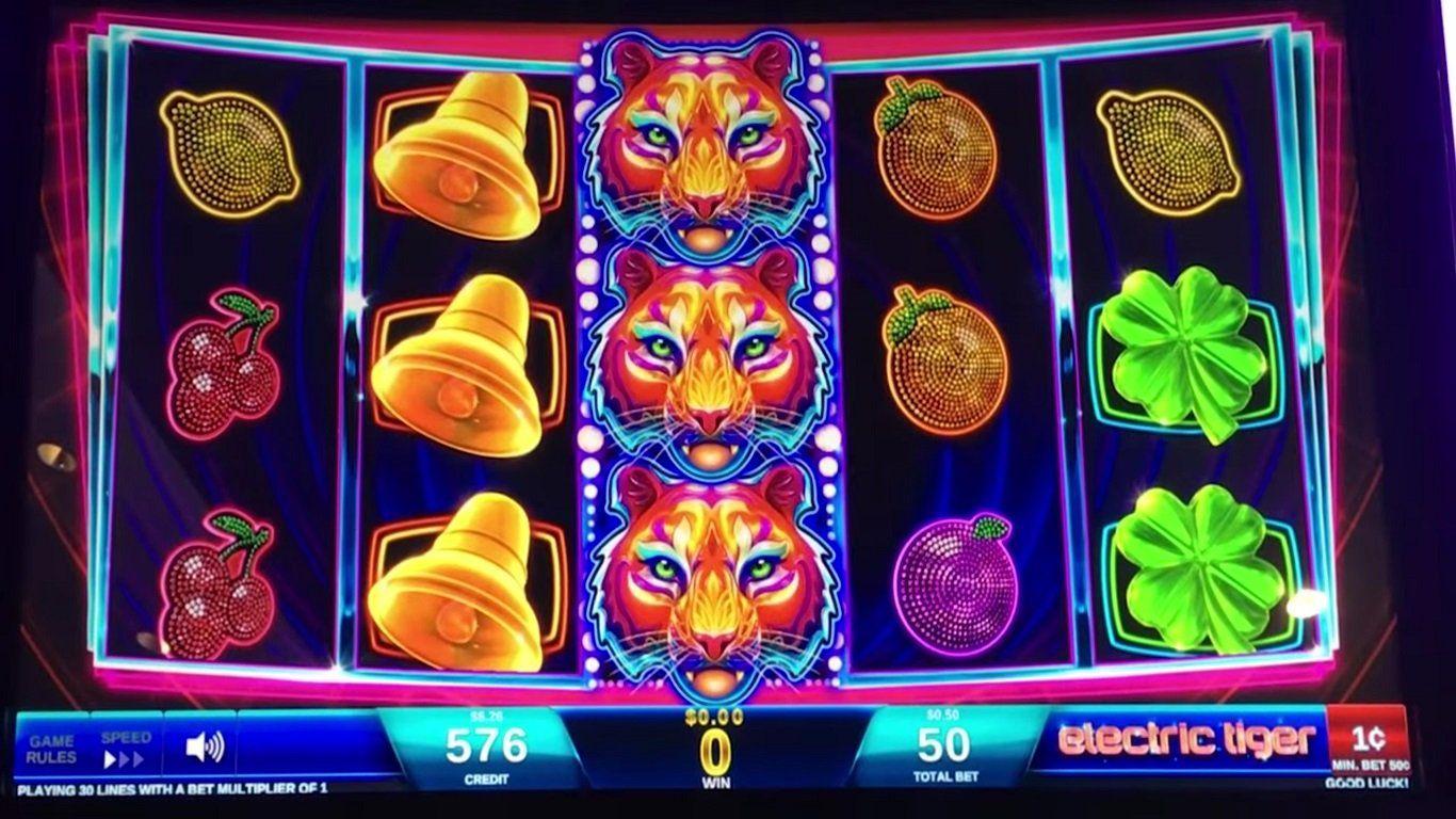 electric tiger free slot machine