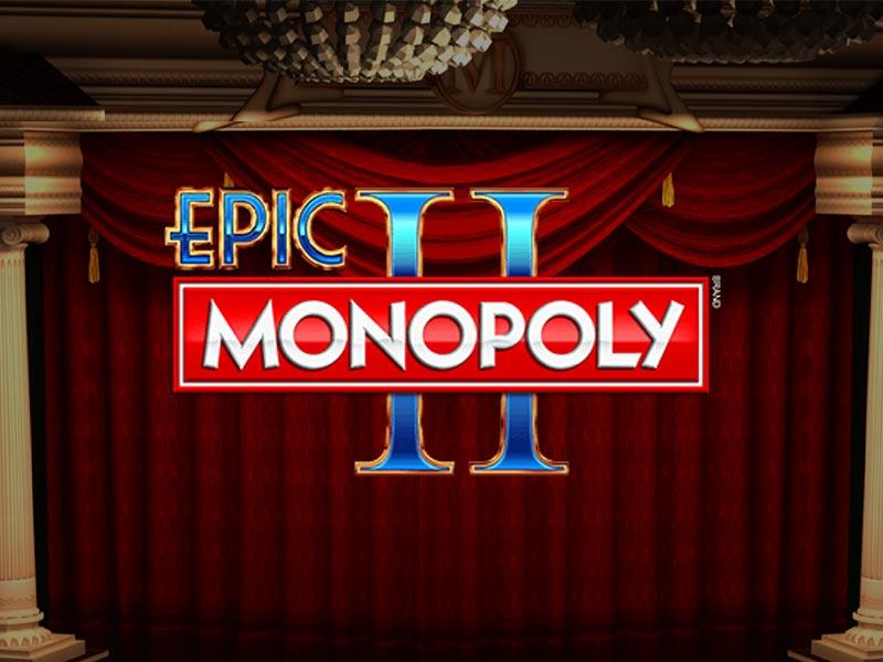 Epic Monopoly 2 WMS Slot Logo