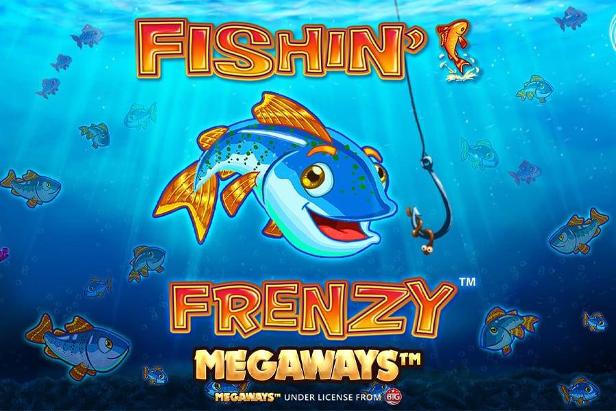 Fishin Frenzy Megaways Slot Featured Image