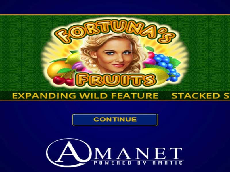 Fortuna's Fruits Slot Machine