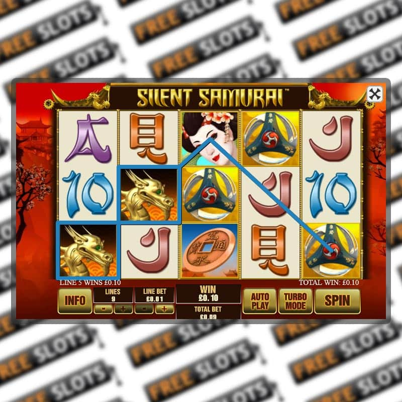 Silent Samurai Slot Machine