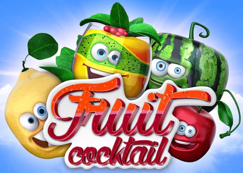 fruit cocktail free slot machine logo