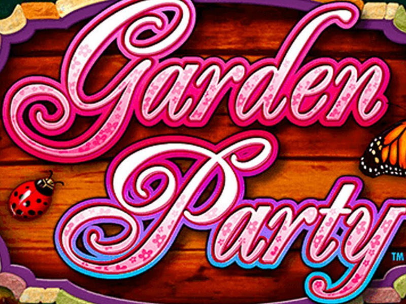 Garden party slot machine